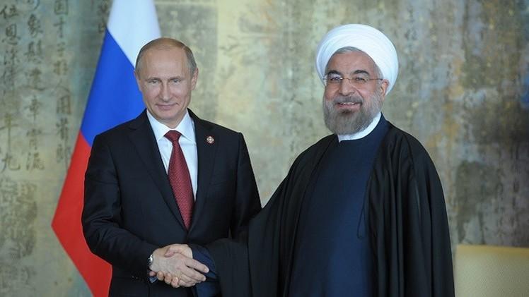 بوتين وروحاني يدعوان الى  الوقف الفوري للمواجهة العسكرية في غزة