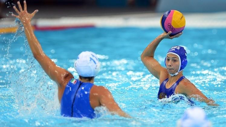 روسيا تخسر أمام إيطاليا بكرة الماء للسيدات