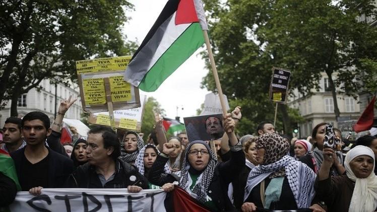 فرنسا.. أول بلد يحظر تظاهرة تضامنية مع الفلسطينيين