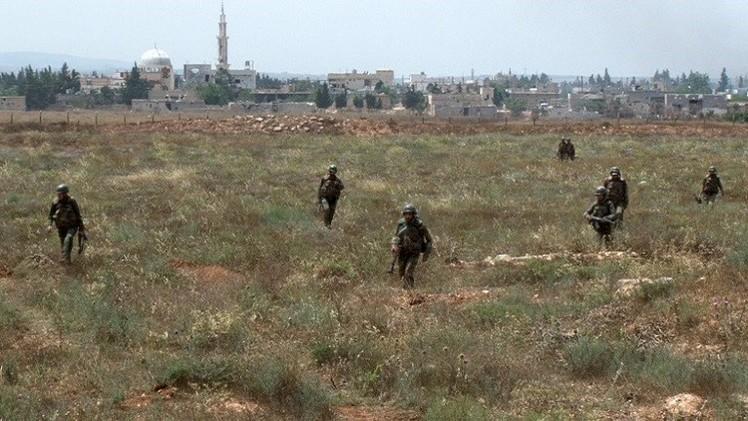 الجيش السوري يشتبك مع