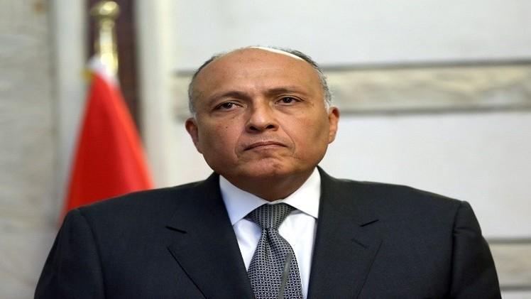 وزير الخارجية المصري: مصر لا تنوي تعديل مبادرتها