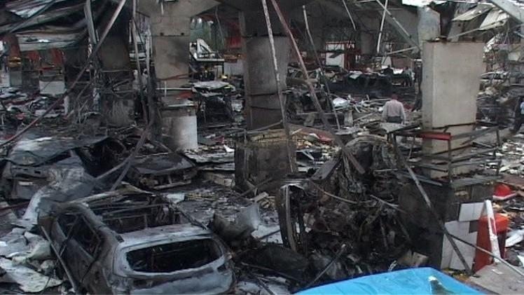 29 قتيلا بسلسلة انفجارات في بغداد