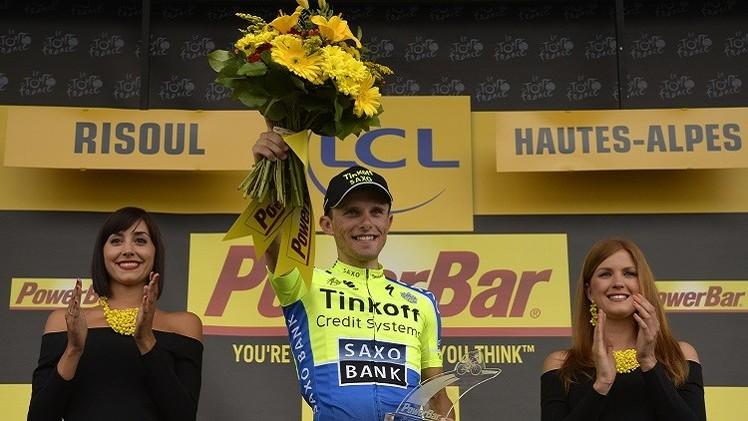 البولندي مايكا بطلا للمرحلة الـ 14 من سباق فرنسا للدراجات