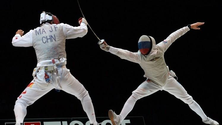 الروسي تشيريميسينوف بطلا للعالم بالمبارزة