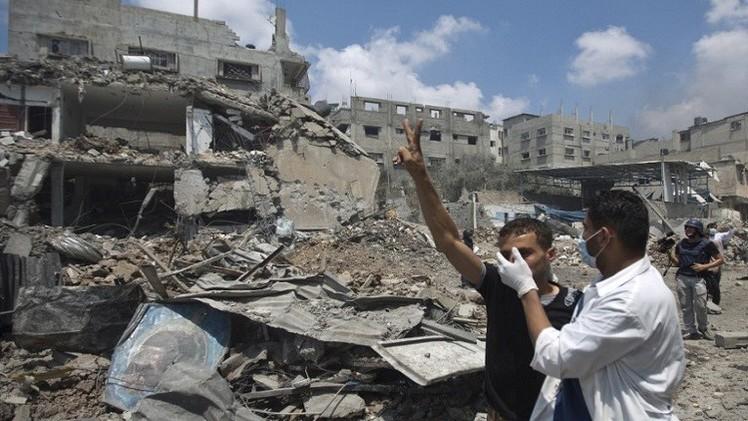 مجزرة الشجاعية 74 قتيلا وأكثر من 350 جريحا (فيديو+ صور)