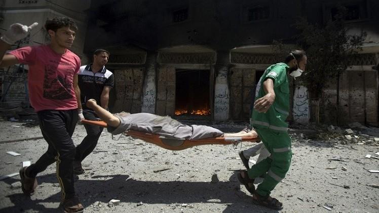نتانياهو يتهم حماس باستخدام الفلسطينيين كدروع بشرية