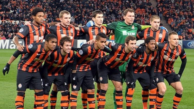 ستة لاعبين من فريق شاختيور يرفضون العودة إلى أوكرانيا