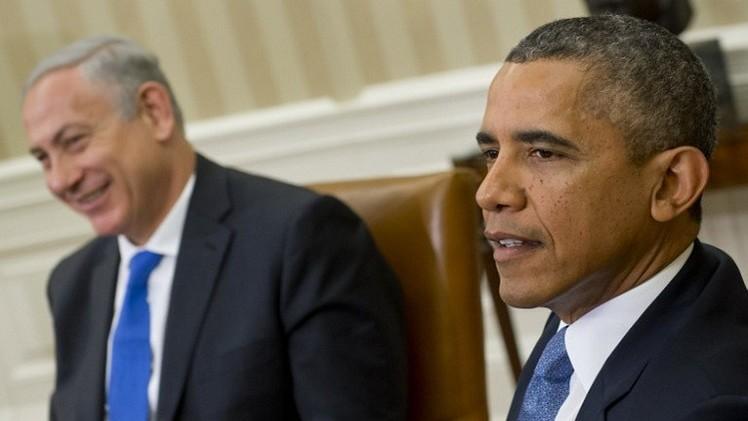أوباما يعرب لنتانياهو عن قلقه من تزايد عدد الضحايا في غزة