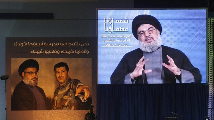 نصر الله يتصل بمشعل وشلح ويشيد بثبات الفصائل الفلسطينية