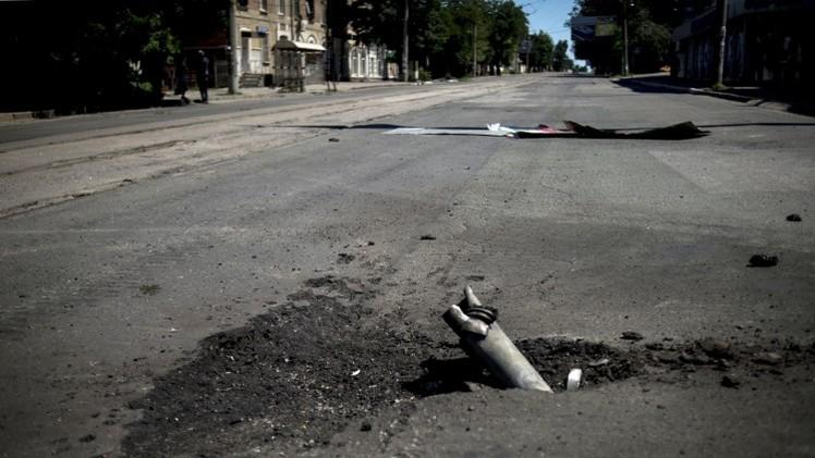 مقتل 3 أشخاص في قصف الجيش الأوكراني لدونيتسك