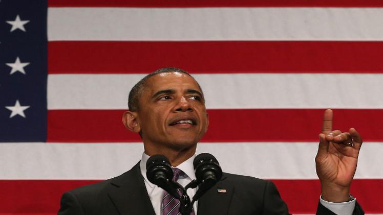 أوباما يدعو لوقف إطلاق النار في غزة