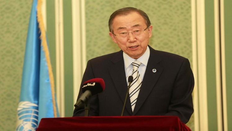 بان كي مون: لا بد من التوصل إلى حل دائم في قطاع غزة