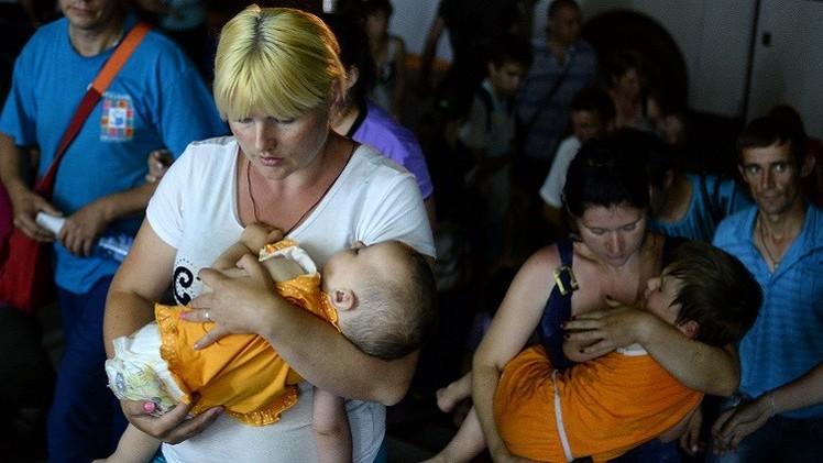 هيومن رايتس ووتش: النازحون الأوكرانيون بحاجة إلى مساعدات عاجلة