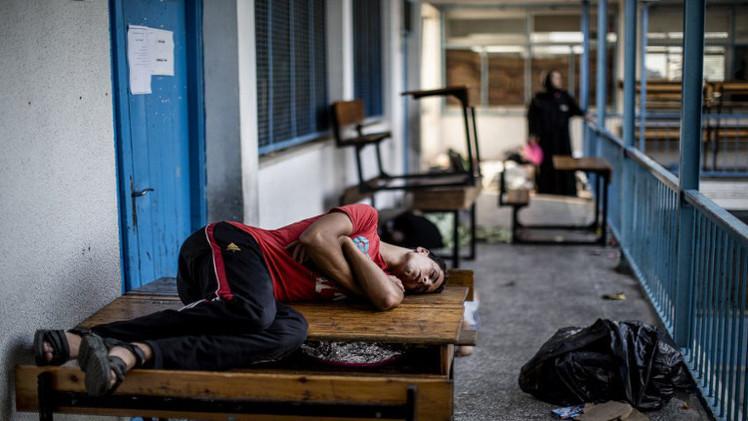 قصف إسرائيلي على مدرسة تابعة للأمم المتحدة تؤوي نازحين