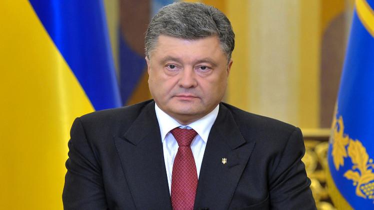 بوروشينكو يؤكد وقوفه ضد الحكم العرفي في أوكرانيا