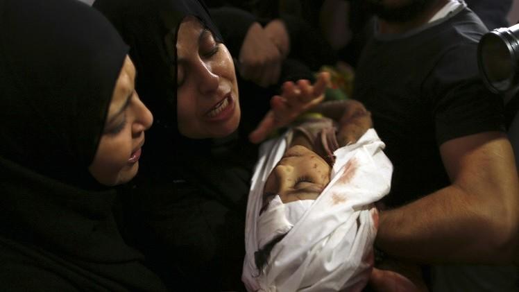 أكثر من 1000 طفل فلسطيني ضحايا اجتياح غزة بينهم 151 قتيلا