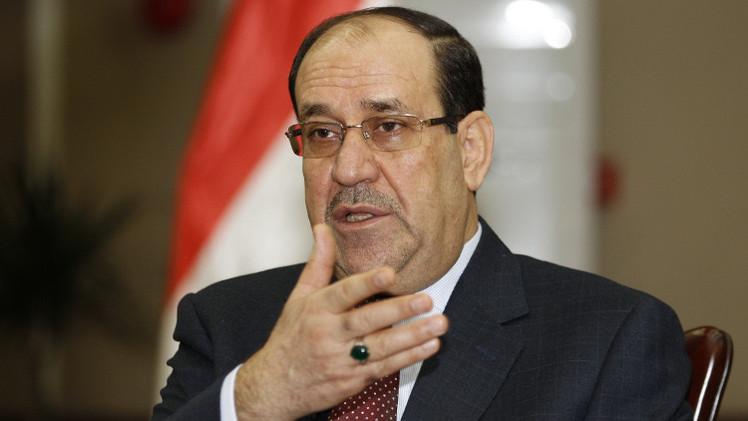 المالكي يدعو ساسة العراق إلى موقف موحد إزاء