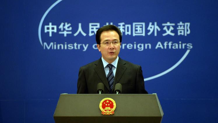 الصين تعارض سياسة التهديد بفرض عقوبات