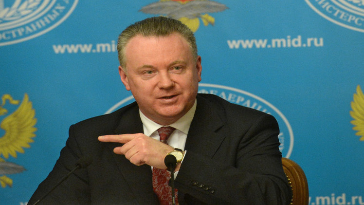 الخارجية الروسية تدعو مجددا إلى وقف إطلاق النار في أوكرانيا