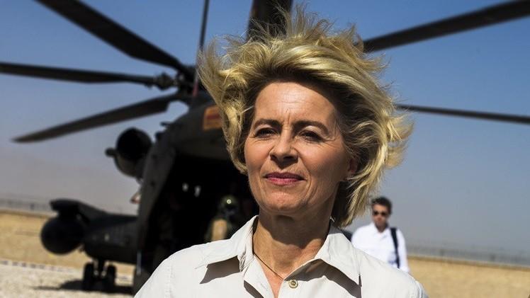لاين:  من السابق لأوانه طرح مسألة إرسال قوات لحفظ السلام إلى شرق أوكرانيا