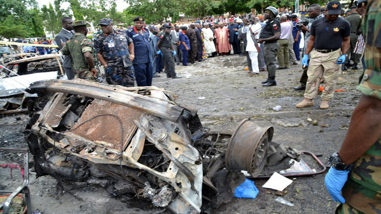 75 قتيلا على الأقل في هجوم انتحاري في نيجيريا