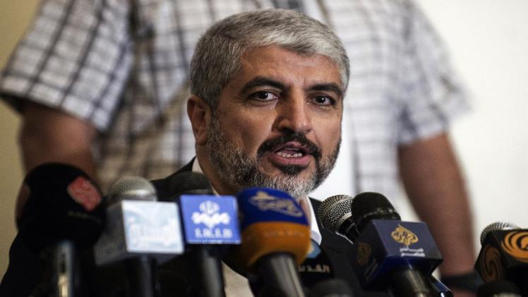 مشعل: ما يجري عدوان على غزة وليس حربا