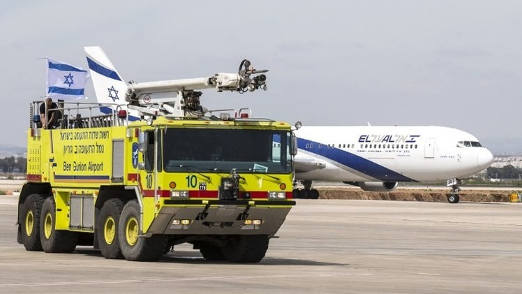 واشنطن ترفع حظر الطيران إلى مطار بن غوريون في إسرائيل