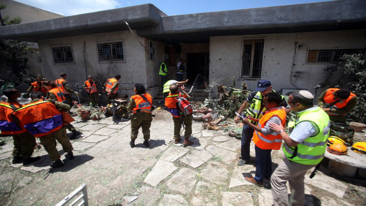 كتائب القسام تقصف مطار بن غوريون