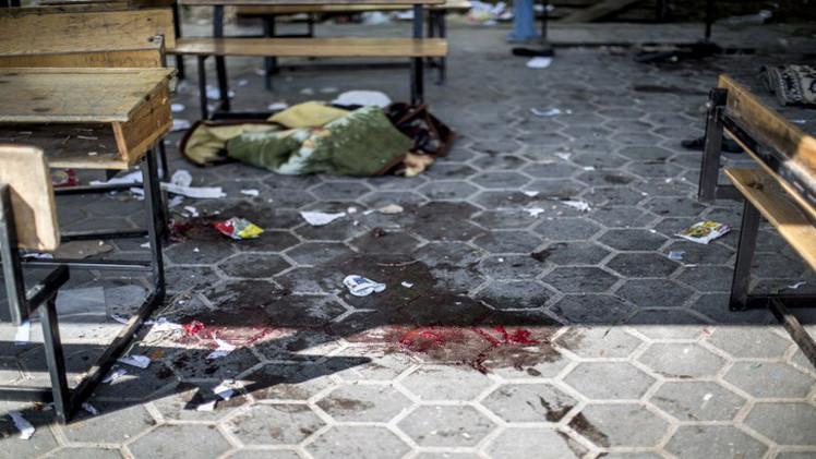 أ ف ب: مقتل موظفين تابعين للأمم المتحدة في قصف إسرائيلي لمدرسة تديرها الأونروا في قطاع غزة (فيديو)