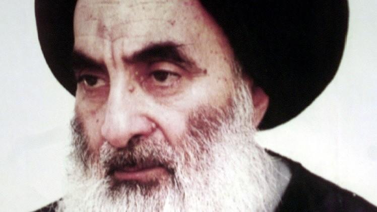السيستاني يؤكد أن محاربة المجموعات المتطرفة حصر على السلطات العراقية