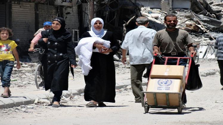 الأمم المتحدة: أطراف النزاع في سورية تمنع وصول المساعدات الإنسانية