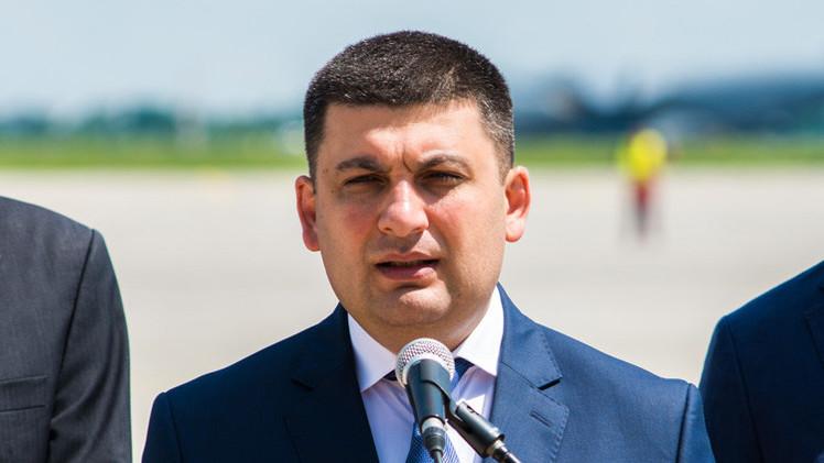 تعيين فلاديمير غرويسمان قائما مؤقتا بأعمال رئيس الوزراء الأوكراني