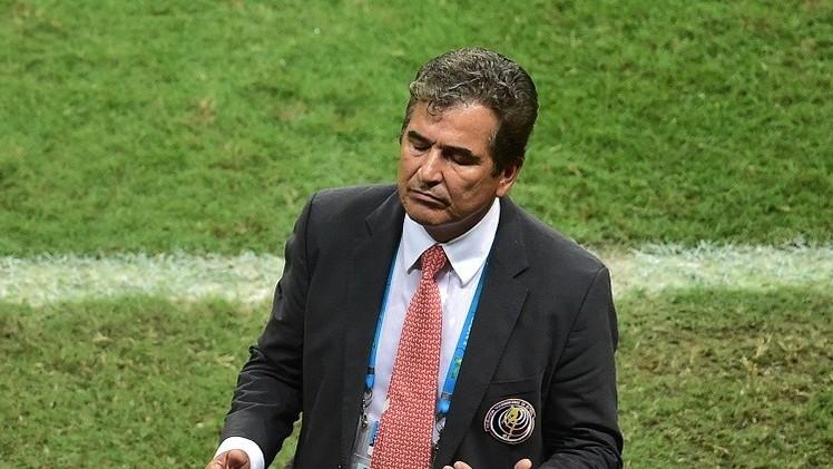 لويس بينتو يستقيل من تدريب كوستاريكا بعد التألق في المونديال