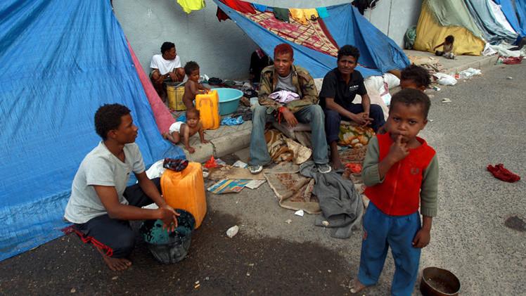 الاتحاد الأوروبي يخصص 8 ملايين دولار لدعم النازحين في اليمن