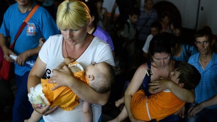 الامم المتحدة: 230 ألف شخص غادروا منازلهم منذ بداية الأزمة في أوكرانيا