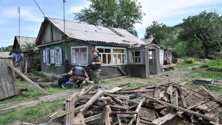 قرية روسية تتعرض لـ40 قذيفة أطلقت من أوكرانيا