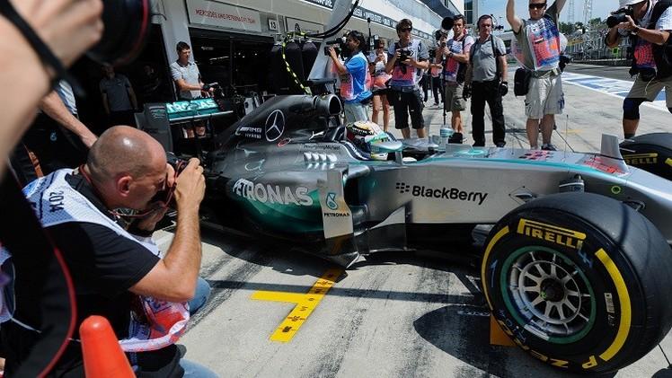 هاميلتون يتصدر التجارب الحرة لسباق جائزة المجر الكبرى