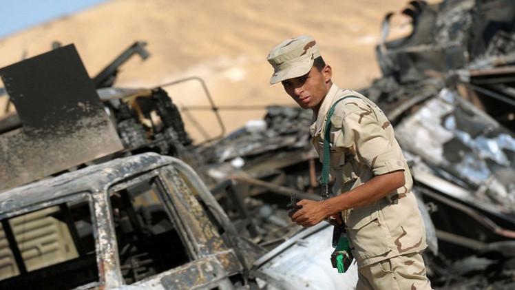 مقتل ضابطين مصريين في هجوم شمال سيناء
