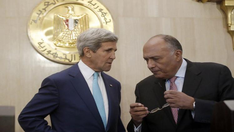 وزير الخارجية المصري : ندعو إلى وقف لإطلاق النار لمدة 7 أيام
