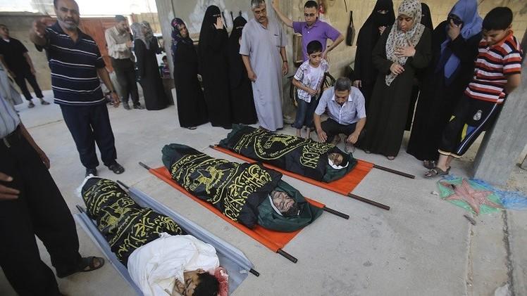 القصف الإسرائيلي يقتل 23 فلسطينيا منذ فجر اليوم الـ19 لاجتياح غزة