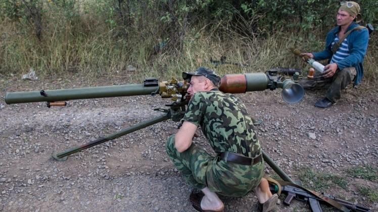 الجيش الأوكراني يقصف دونيتسك بقنابل فوسفورية