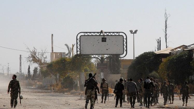 مراسلنا: الجيش السوري يسيطر بالكامل على جبل الشاعر وحقول الغاز في حمص