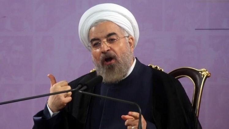 روحاني لمعصوم: ندعم جهود ضمان الاستقرار والأمن في العراق