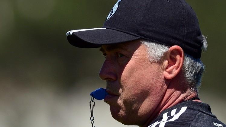 أنشيلوتي يواجه إنتر ميلان بـ 6 لاعبين أساسيين فقط
