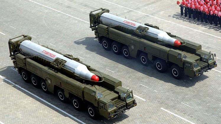 كوريا الشمالية تطلق صواريخ متوسطة المدى من سواحلها الشرقية