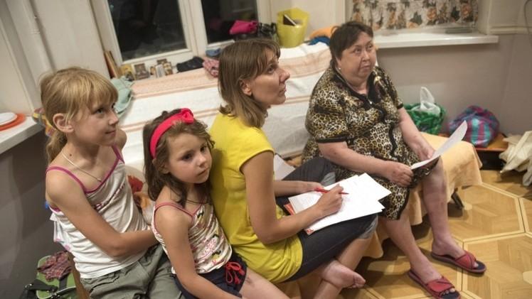 عدد اللاجئين الأوكرانيين في روستوف يتجاوز 40 ألفا