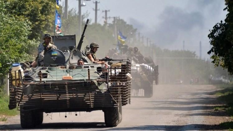أوكرانيا تؤكد انشقاق 41 من جنودها وفرارهم إلى روسيا