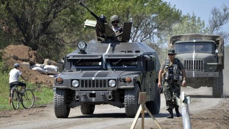قوات الدفاع الشعبي: الجيش الأوكراني يدخل مدينة شاختيورسك