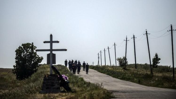 وزير الخارجية الأوكراني: كييف لا تعتزم استخدام القوة للسيطرة على موقع تحطم الماليزية