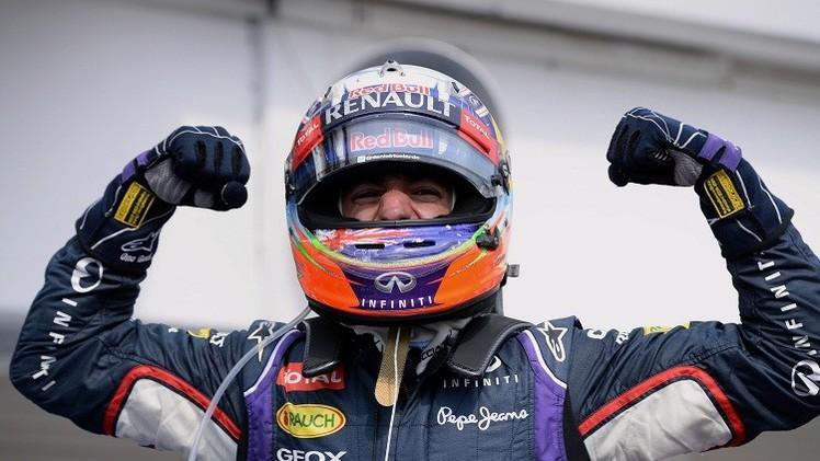 الأسترالي ريتشياردو يفوز بجائزة المجر للفورملا-1 وهاميلتون ثالثا